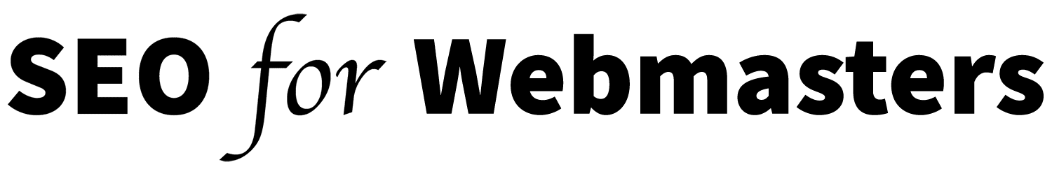 SEO for Webmasters